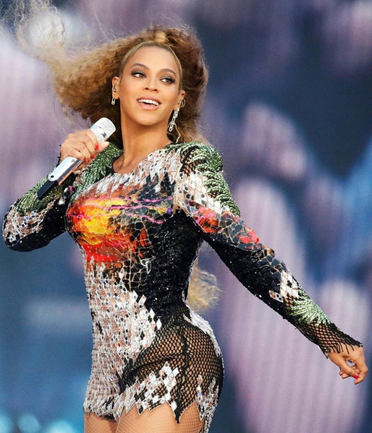 Beyoncé in Messika - On the Run 2 Germany