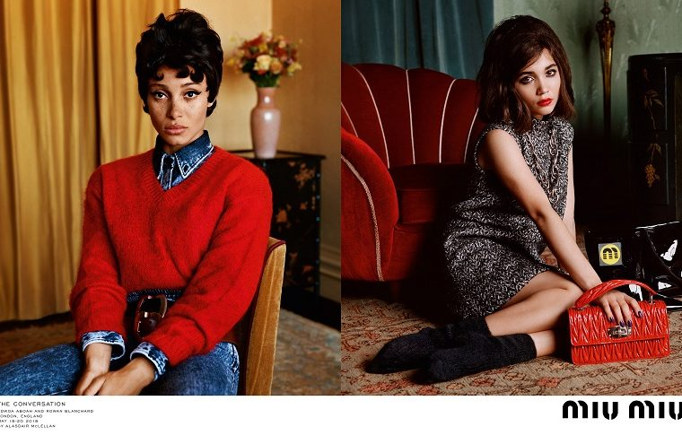 Miu Miu FAutumn Winter 2018 Campaign