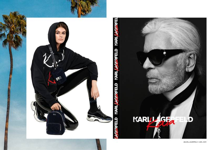 Karl Lagerfeld Unveils Kaia Gerber Capsule Collection