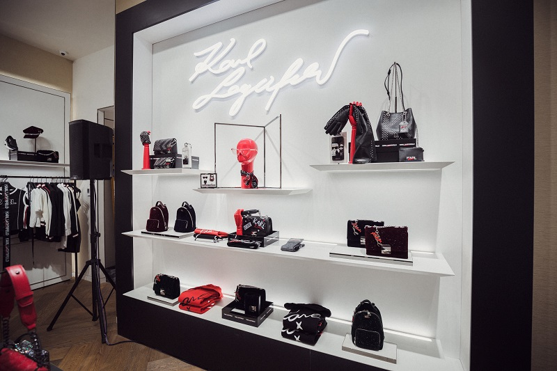Karl Lagerfeld Opens At The Mall Of The Emirates