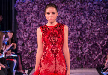 ATELIER ZUHRA showcases at the 'Al Arabia Fashion Days' in Moscow, Russia