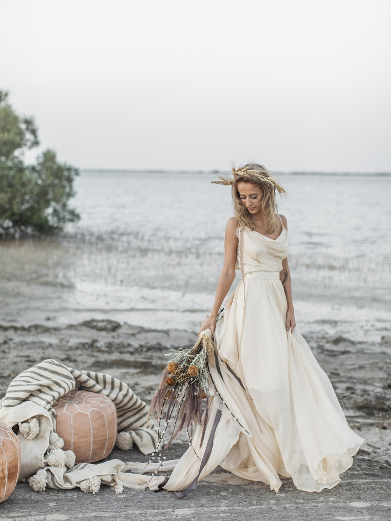 House of Moirai: UAE Home-Grown Bohemian Inspired Bridal Wear