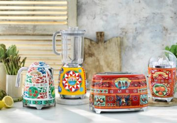 The Exclusive SMEG X Dolce & Gabbana Collection From Robinsons
