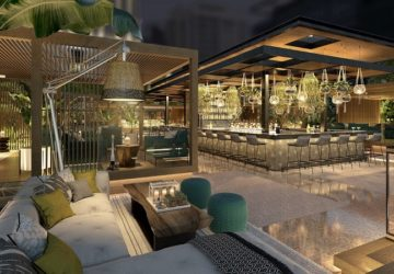 The Botanical Inspired Lounge, FLAIR NO.5 Welcomes a New Season