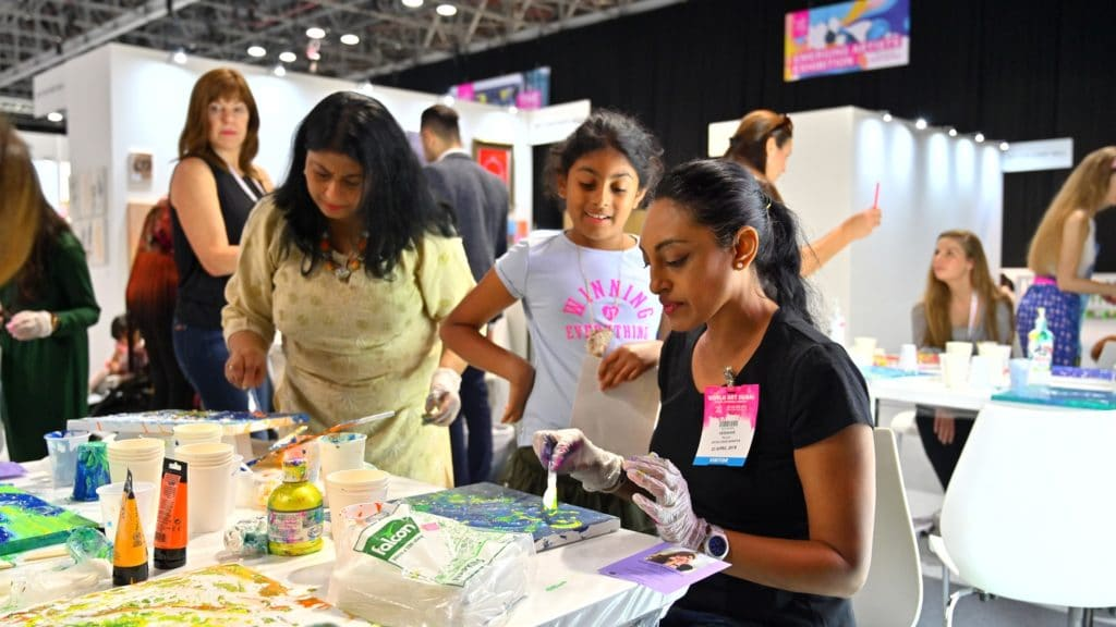 Workshops underway at World Art Dubai 2019